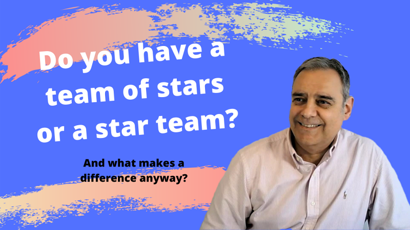 Do you have a team of stars or a star team?